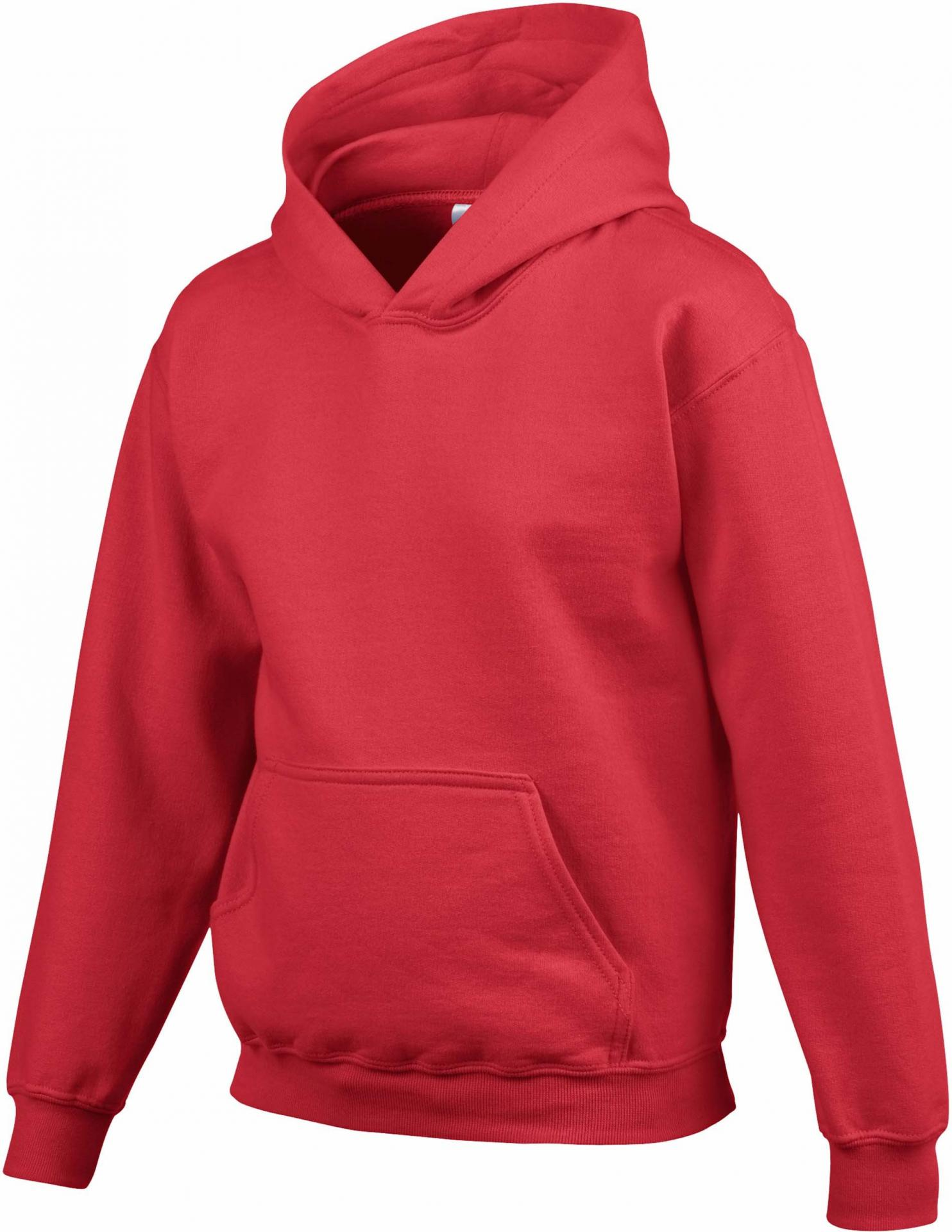 Sweat capuche enfant rouge