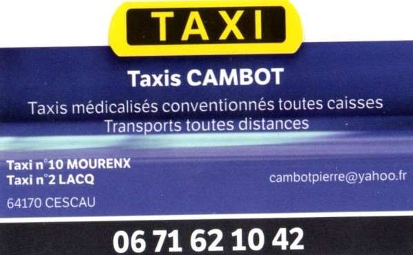 Taxis cambot